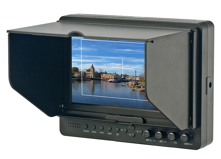 Externý LCD monitor LILLIPUT 665/O/P - 7 palcov, TFT, 2x HDMI, VIDEO BNC, YPbPr, XLR, AUDIO BNC