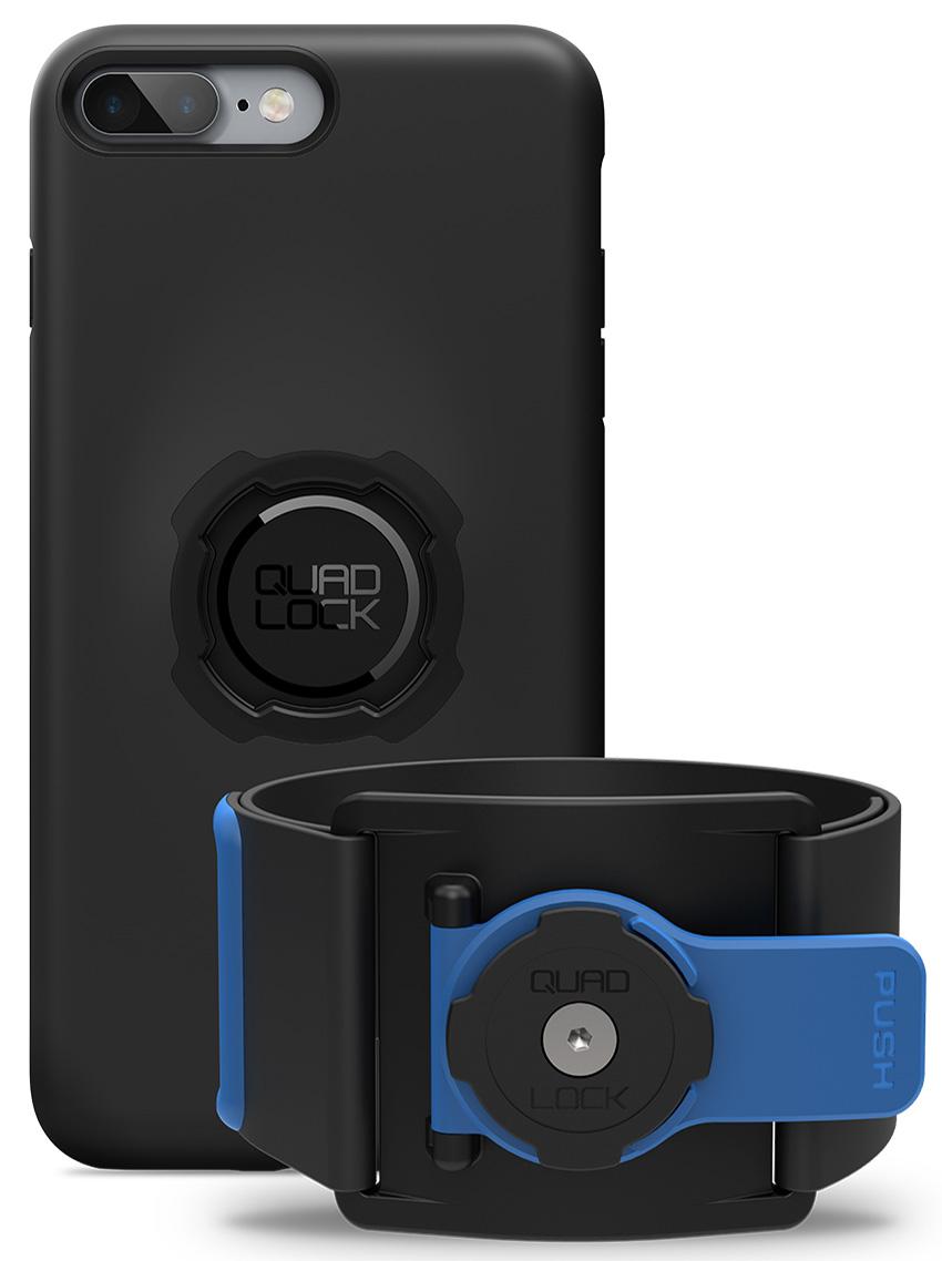 Quad Lock športová držiak na ruku Run Kit - iPhone 7+