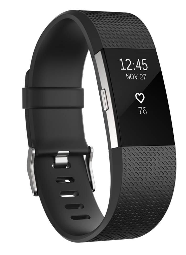Fitbit Charge 2 - fitness náramok - vel. S, čierný