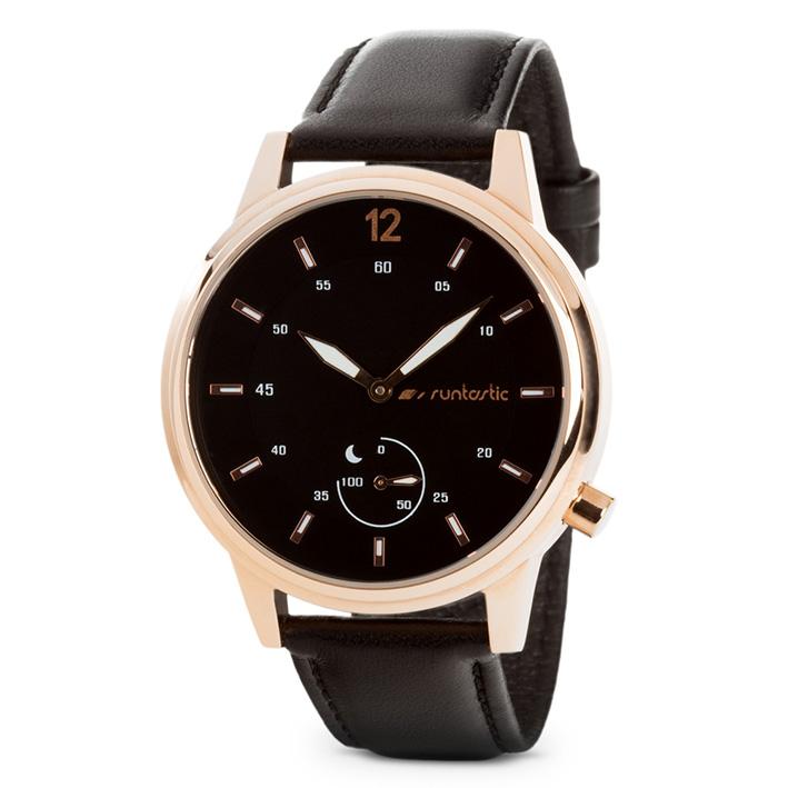 Runtastic Moment Classic, Rosa - chytré hodinky