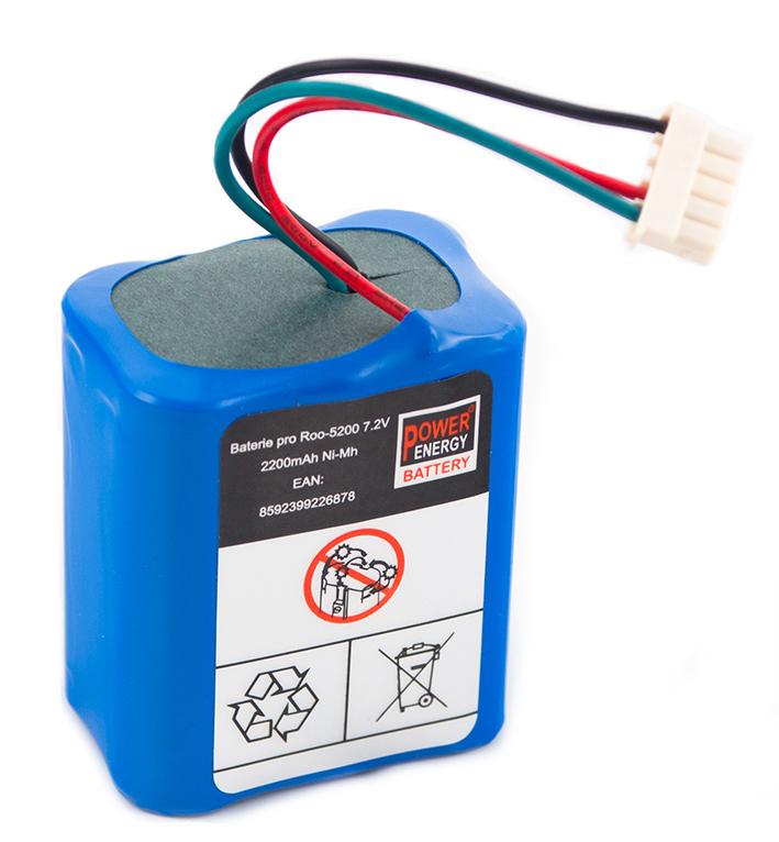 Batéria pre iRobot Braava 380, 380T, Mint 5200, 5200B 5200C - 2200 mAh